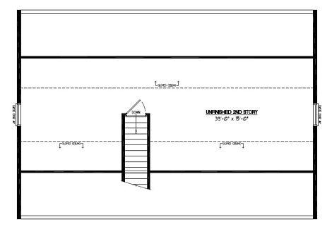 Certified Floor Plan - Mountaineer Certified Floor Plan Upstairs - 28 x 40 - #28MR1303