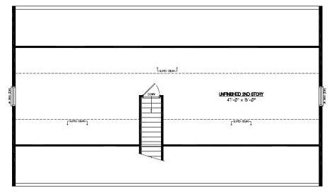 Certified Floor Plan - Mountaineer Certified Floor Plan Upstairs - 28 x 48 - #28MR1305