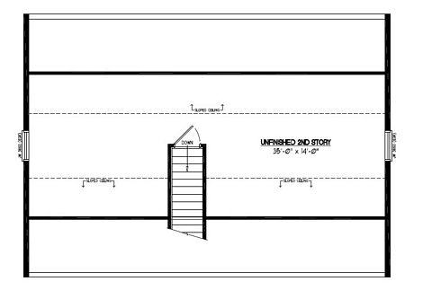 Certified Floor Plan - Mountaineer Certified Floor Plan Upstairs - 26 x 36 - #26MR1302