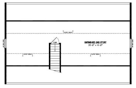 Certified Floor Plan - Mountaineer Certified Floor Plan Upstairs - 26 x 40 - #26MR1304