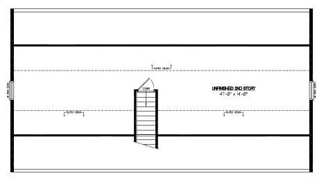 Certified Floor Plan - Mountaineer Certified Floor Plan Upstairs - 26 x 48 - #26MR1305