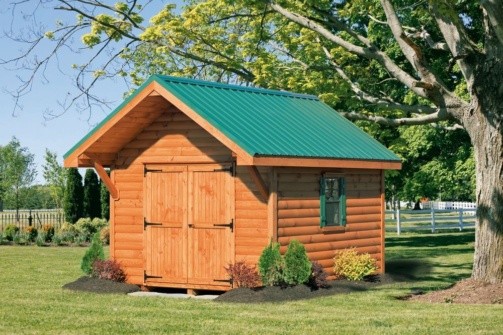 Log Sided Shed Plans