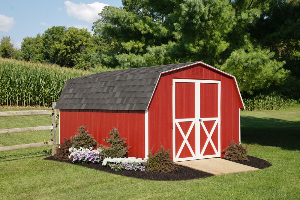 Garden sheds lawn shed outdoor shed storage shed for Mini barn