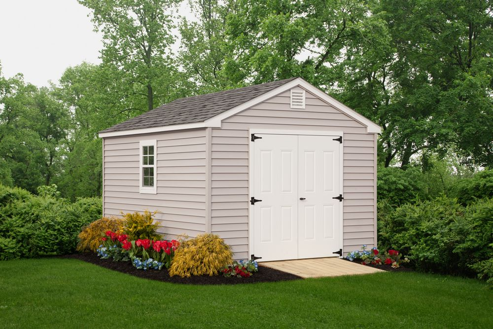 Standard Features For New England Sheds