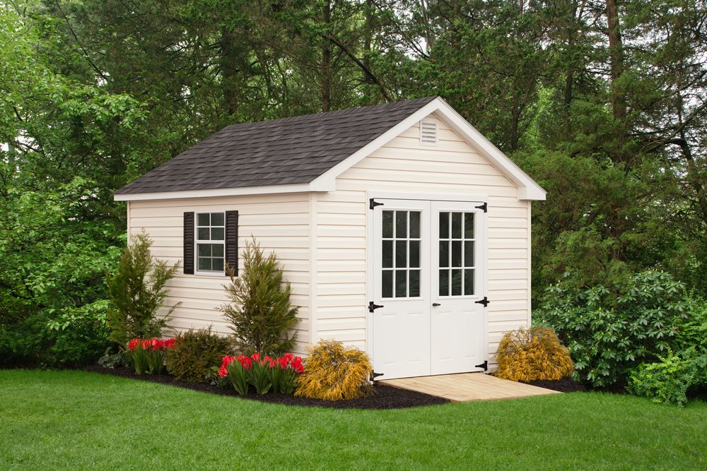 shed vinyl cape shed 10 x 12