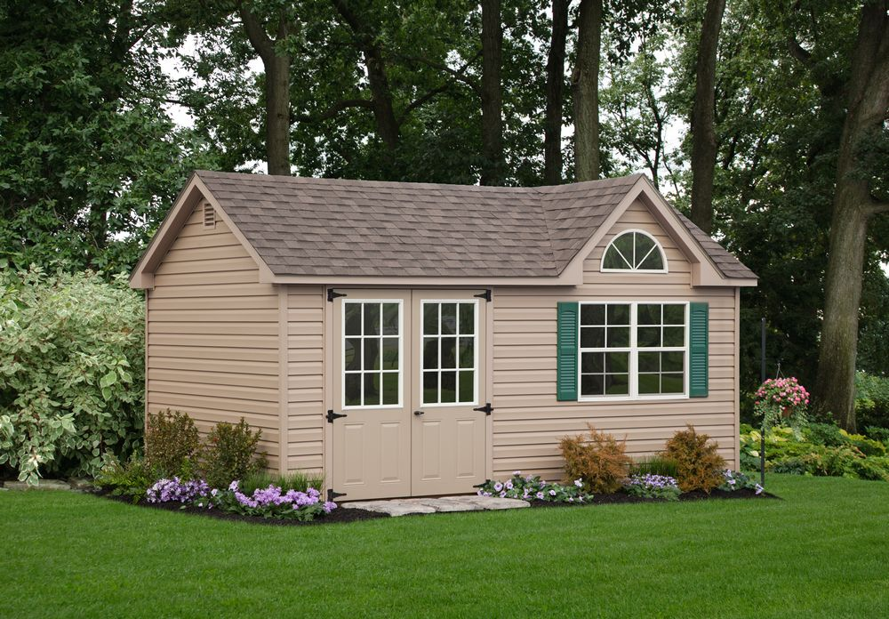 Standard Features For Quaker Storage Sheds