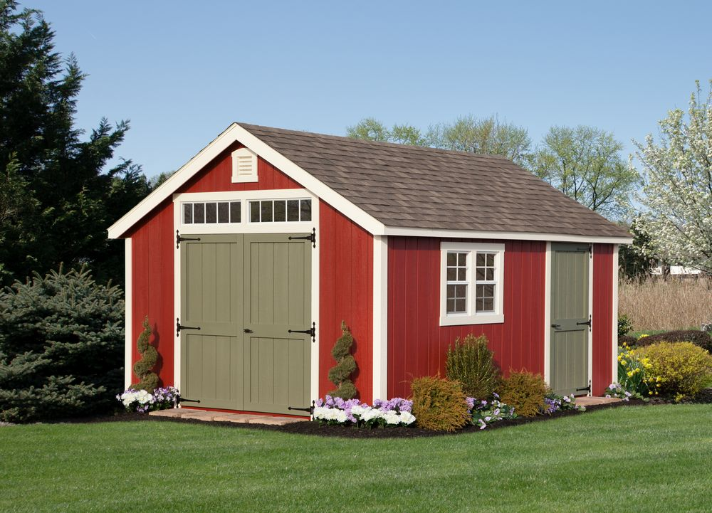 shed new england cape shed 12 x 16