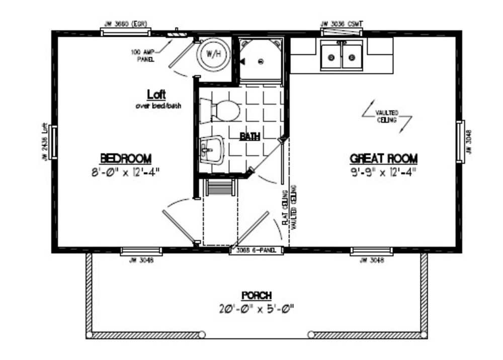 Cabin Floor Plans dersken deluxe lofted barn cabin floor plans Cape Cod Recreational Cabin Floor Plans