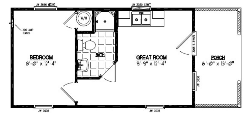 51aladdin Cedars likewise 12x20h3a together with Tiny House On Wheels Floor Plans as well Big Bear Series Floorplans further Loversloft. on 16x32 house plans