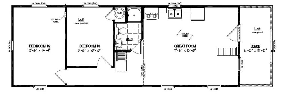 Adirondack floor plans onvacations wallpaper for Adirondack home plans
