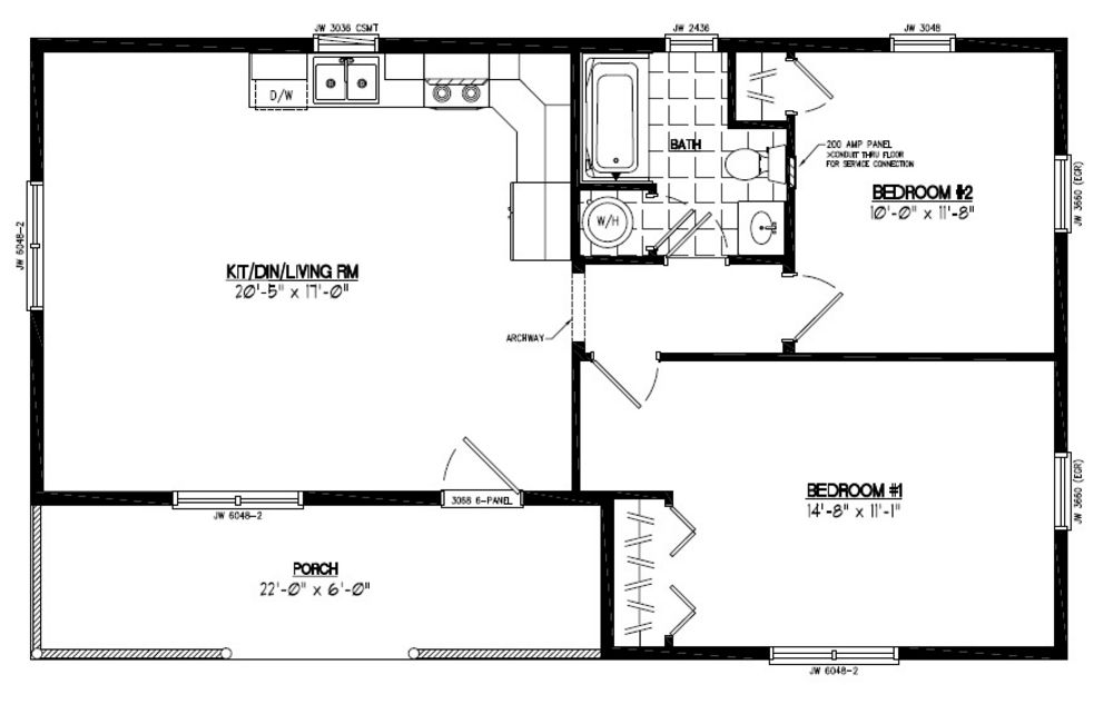 Certified Homes Frontier Style Certified Home Plans