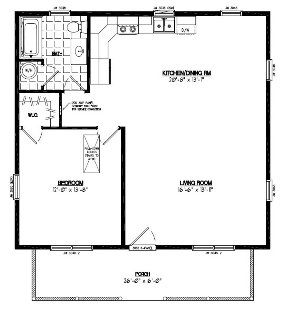 28x30 musketeer certified floor plan 28mk1501 custom for 26 x 36 garage
