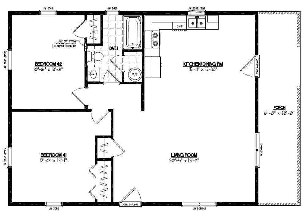 Certified Homes Settler Certified Home Floor Plans