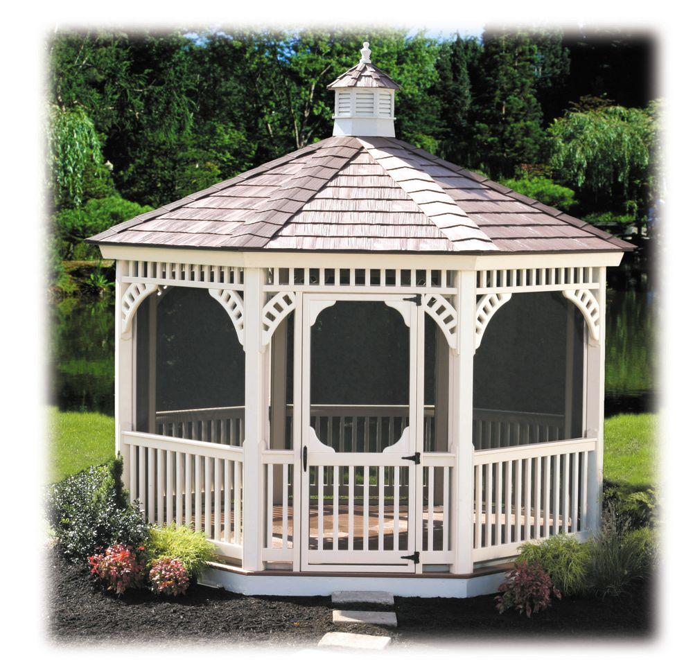 gazebos wood vinyl gazebos garden gazebos. Black Bedroom Furniture Sets. Home Design Ideas