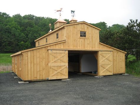 Monitor Barns | Custom Barns | Design Your Own Barn
