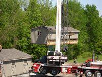 Monitor Barn - 6 Stall Monitor Barn Crane - 30 x 36