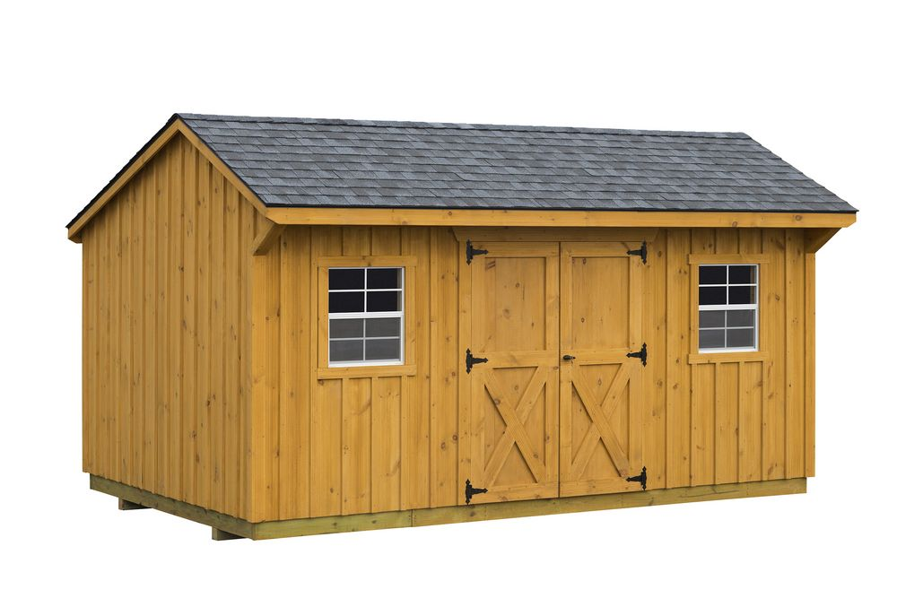 Board batten sheds backyard sheds garden sheds for Sheds and barns
