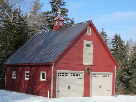 If custom barns and buildings the carriage shed for Modular carriage house garage