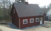 Modular Garage - 12 Pitch Modular Garage - 24 x 30