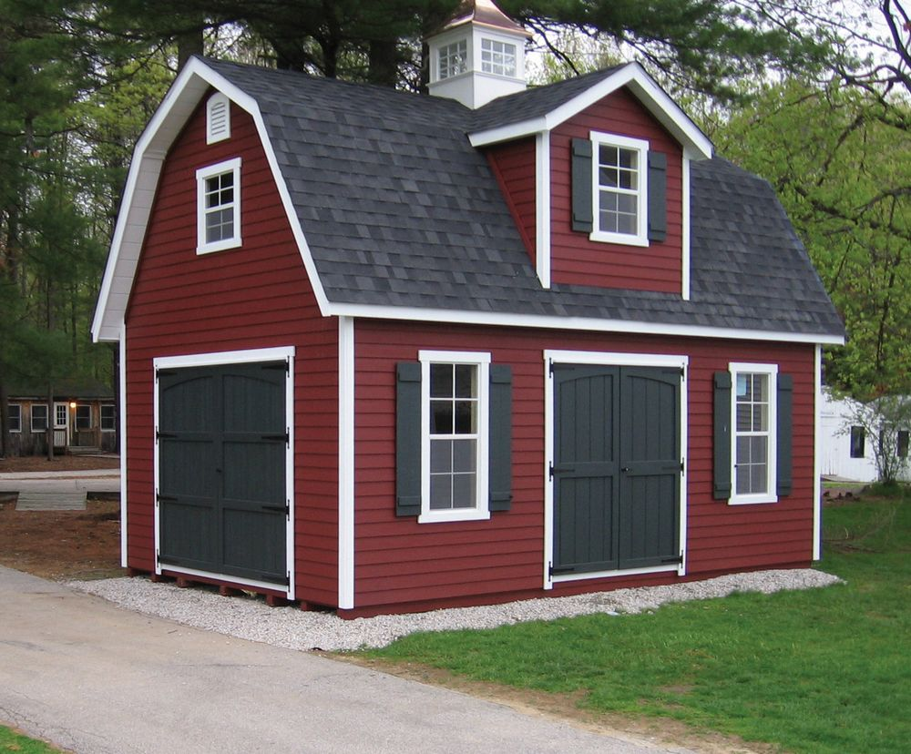 Classic garden structures all purpose sheds garden sheds for 2 story barn house