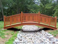 Bridge - Wooden Victorian Bridge - 14 Foot