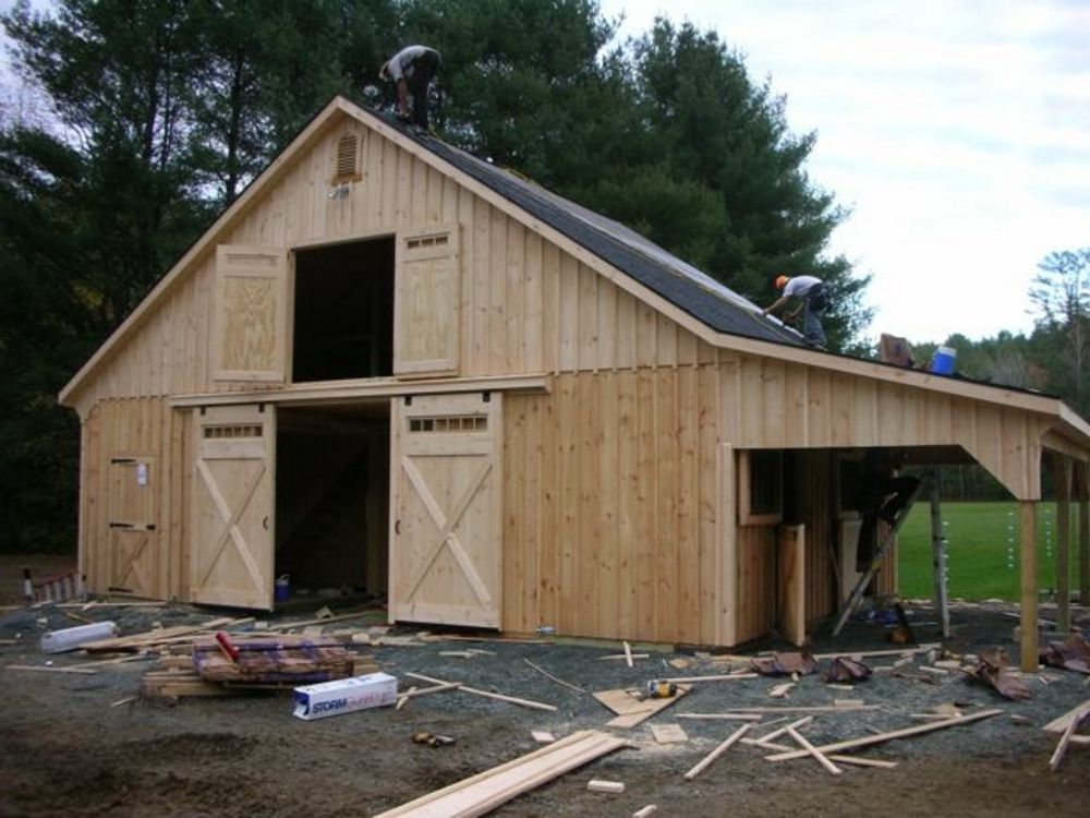 High country horse barns horse barns most popular for 24x36 pole barn