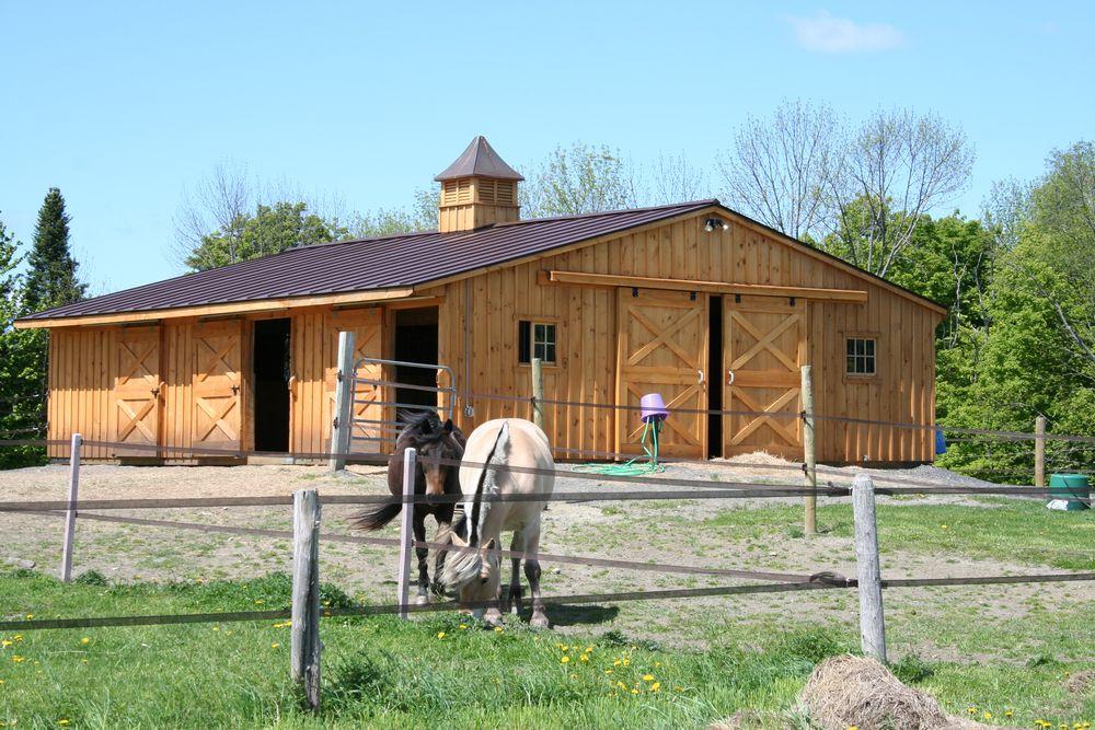 Low Profile Horse Barns Custom Horse Barn Layouts
