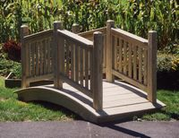 Bridge - Wooden Victorian Bridge - 6 Foot