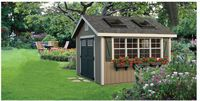 Classic Garden Structures - A-Frame Classic Garden Structure - 10 x 12