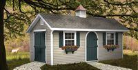 Classic Garden Structures - Quaker Classic Garden Structure - 10 x 20
