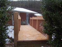Bridge - Wooden Custom Bridge Oak & Mahogany - 20 Foot