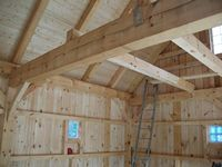 Post & Beam Garage - 24 x 28 Post & Beam Garage