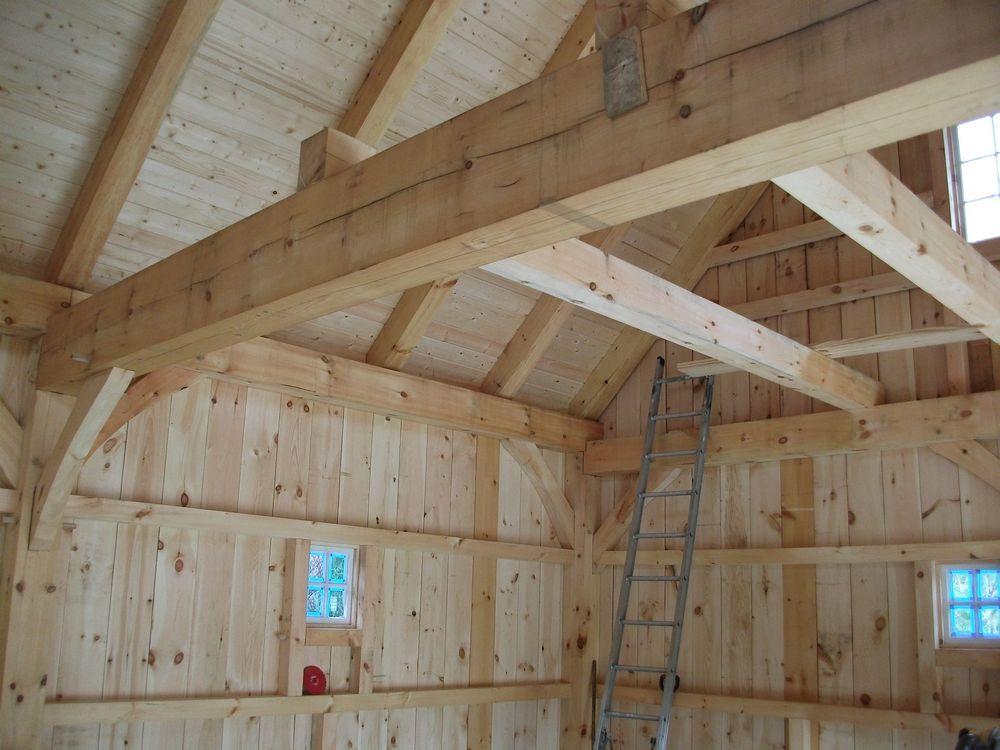 Post Amp Beam Garage6 Custom Barns And Buildings The