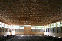 Indoor Riding Arena - 60 x 140 x 16 High Indoor Riding Arena