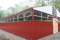 Indoor Riding Arena - 60 x 140 x 16 High Indoor Riding Arena