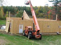 Modular Horse Barn - 6 Pitch Modular Horse Barn - 24 x 48