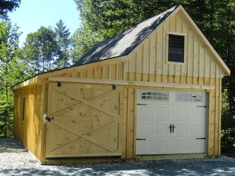 Modular Garage - White River Modular Garage - 12 x 26
