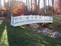 Bridge - Vinyl Victorian Bridge - 22 Foot