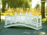 Bridge - Vinyl Victorian Bridge - 10 Foot
