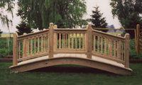 Bridge - Wooden Colonial Bridge - 12 Foot