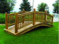 Bridge - Wooden Colonial Bridge - 12 Foot