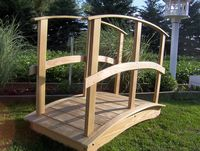 Bridge - Wooden Custom Bridge - 4 Foot