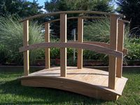 Bridge - Wooden Custom Bridge - 4 Foot