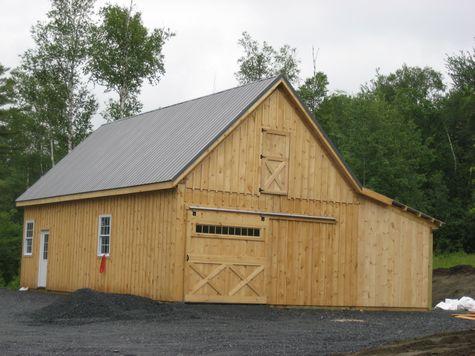 Modular Horse Barn - High Country Modular Horse Barn - 22 x 48