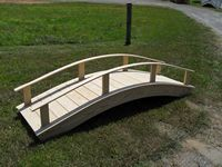 Bridge - Wooden Japanese Bridge - 10 Foot