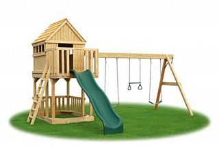 Eagle - Play - Structure - Tree House