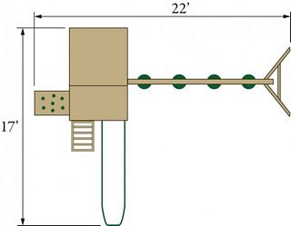 Eagle - Play - Structure - Layout - Conestoga 15B