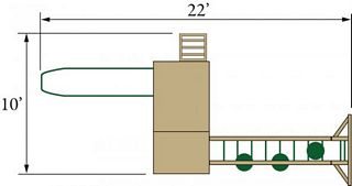 Eagle - Play - Structure - Layout - Conestoga 14A