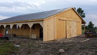 Various - Barn - Style - 48x80 - Pole - Barn