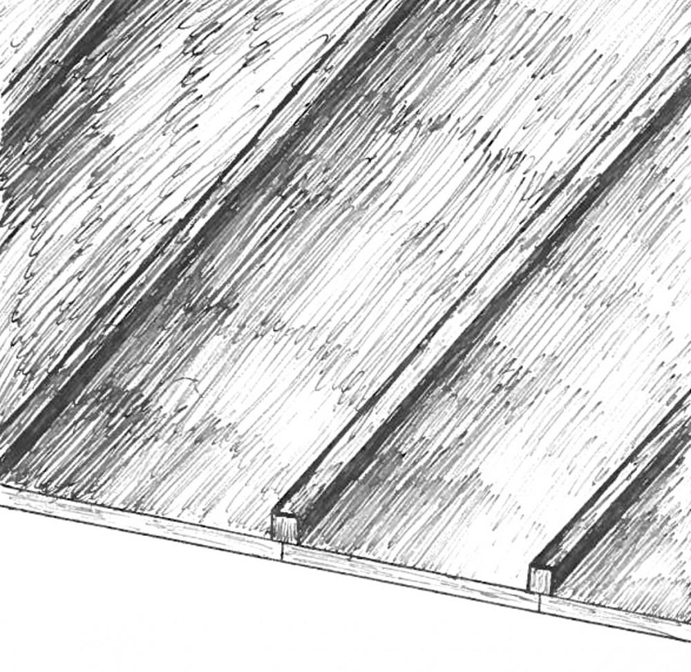 Board & Batten Sketch